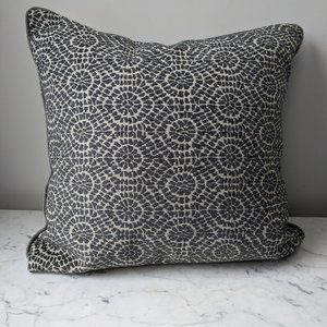 NEW Abstract Graphic Design Pillow Cover Gray